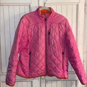 Lands End Quilted Down Jacket